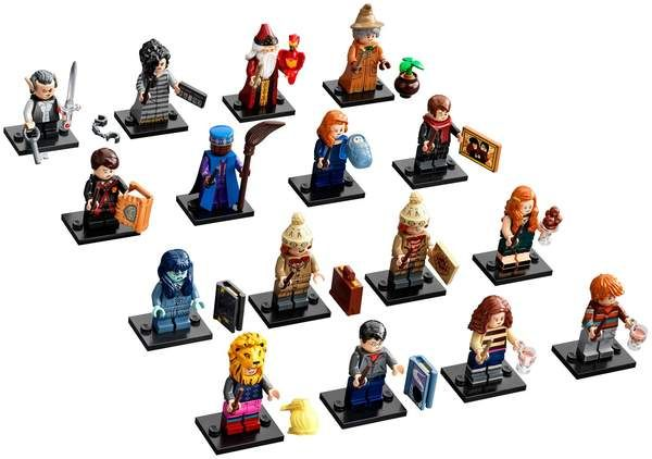 Harry Potter Series 2 Complete Collection 16 LEGO Minifigures 71028
