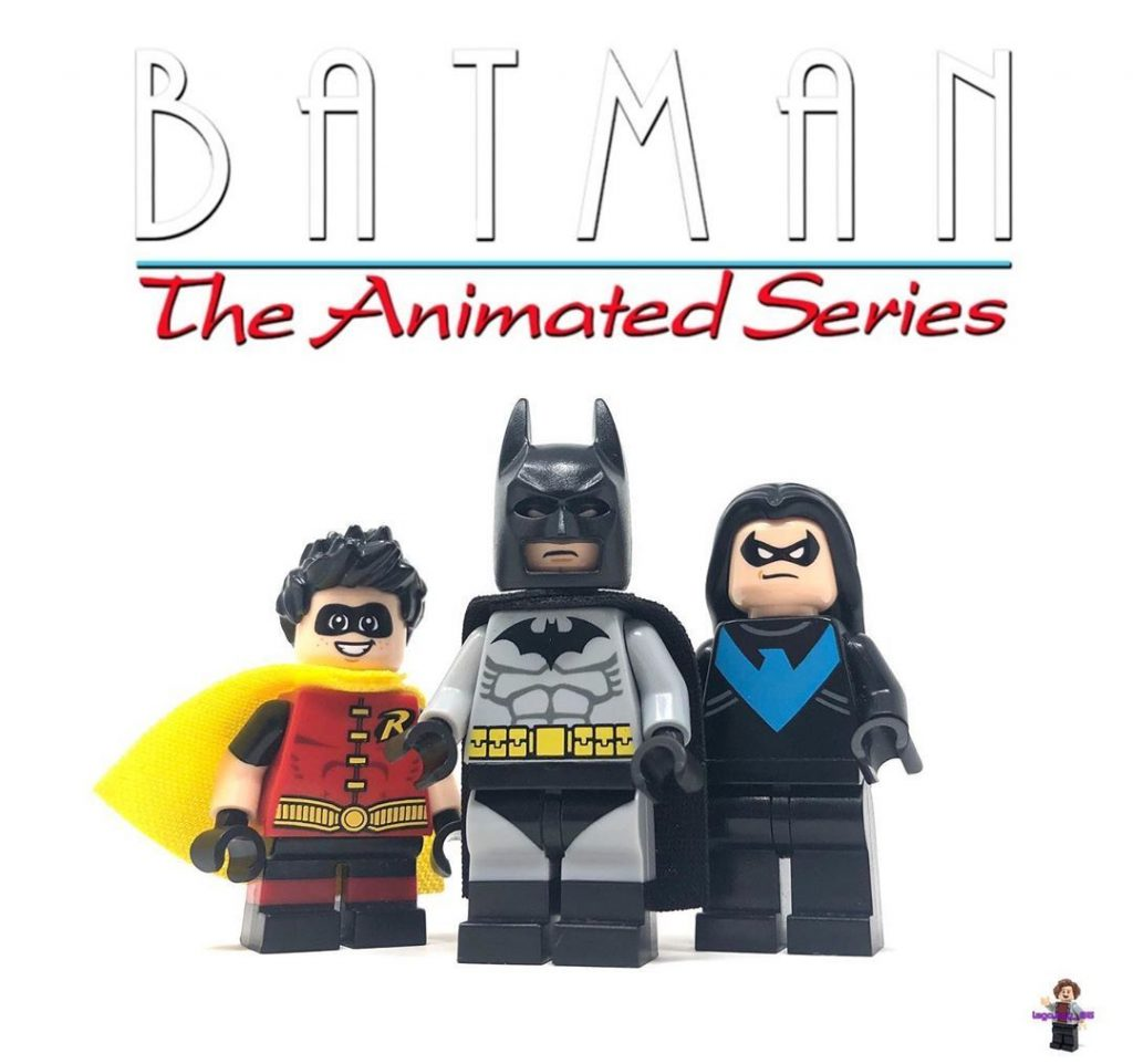 """LEGO Minifigure Posts🥬 on Instagram: """"""""I am vengeance…"""" Here are some more Batman customs! This time, based off the later seasons of Batman the animated series. These are very…"""""""