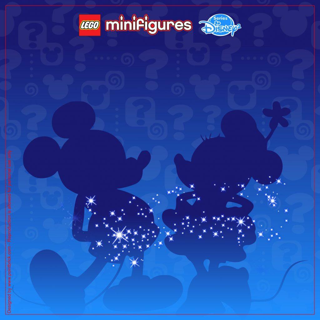 LEGO Minifigures Display: Sfondi Serie Disney 2
