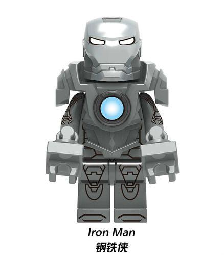 Ironman MK 34 Southpaw Mavrel SuperHeroes Minifigures