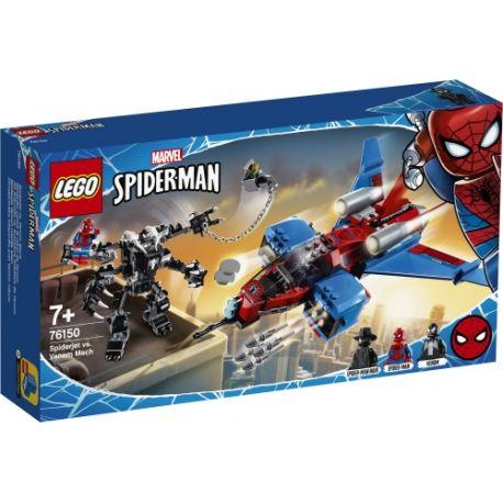 Spiderjet vs. Venom Mech LEGO Marvel 76150 by LEGO