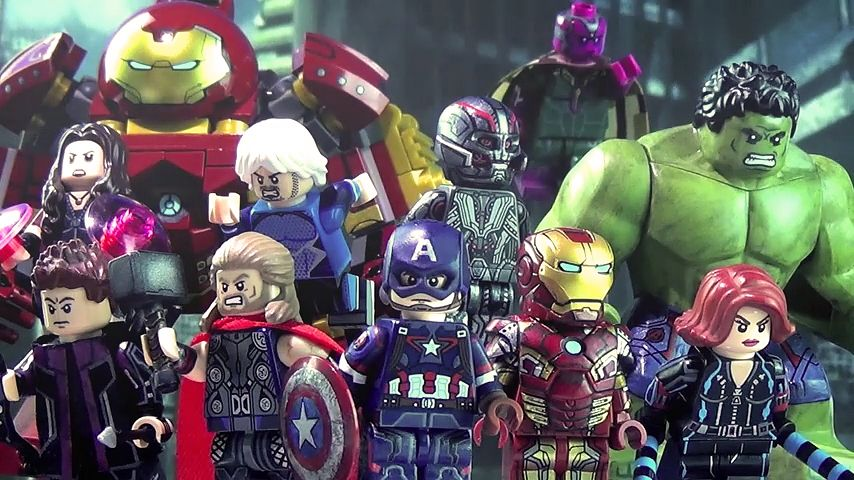 These customized Avengers Lego Minifigs are incredibly detailed