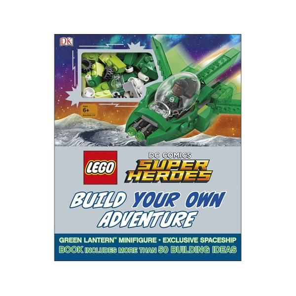 LEGO DC Comics Super Heroes: Build Your Own Adventure Hardcover Book