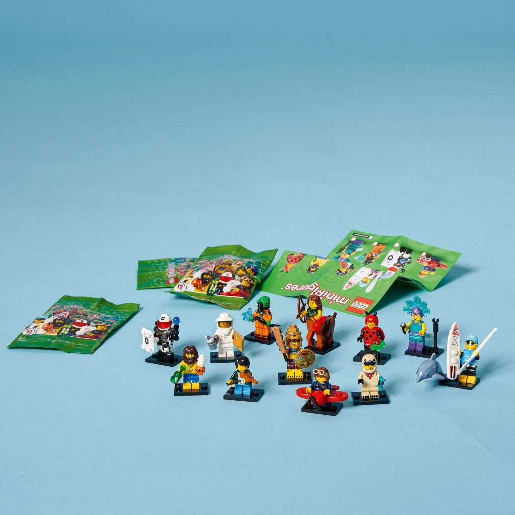 LEGO Minifigures Series 21 71029 Limited Edition Collectible Building Kit (1 of 12 to Collect)