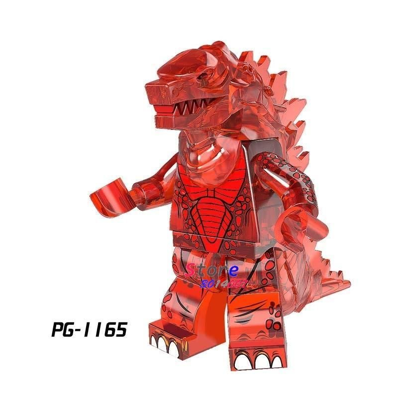Single The God of War King Kong Movie Series Voltron Team Godmars Godzilla figure building blocks model bricks toys for children – PG1165
