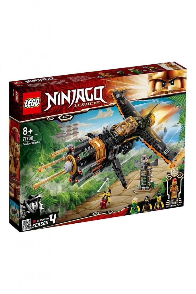 David Jones Lego 71736 Boulder Blaster in Ninjago