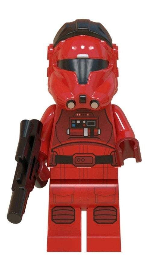 Jet Trooper Star Wars  Custom minifigure.   Brand new in package.  Please visit shop, lots more!
