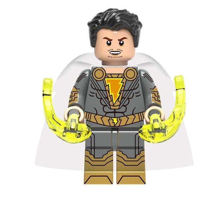 Shazam and Marvel Family custom minifigure set