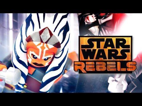 LEGO Star Wars : Ahsoka Tano Custom Minifigure – Showcase