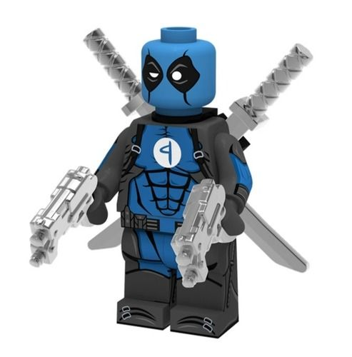 Deadpool x Fantastic Four Super Heroes Custom Minifigs
