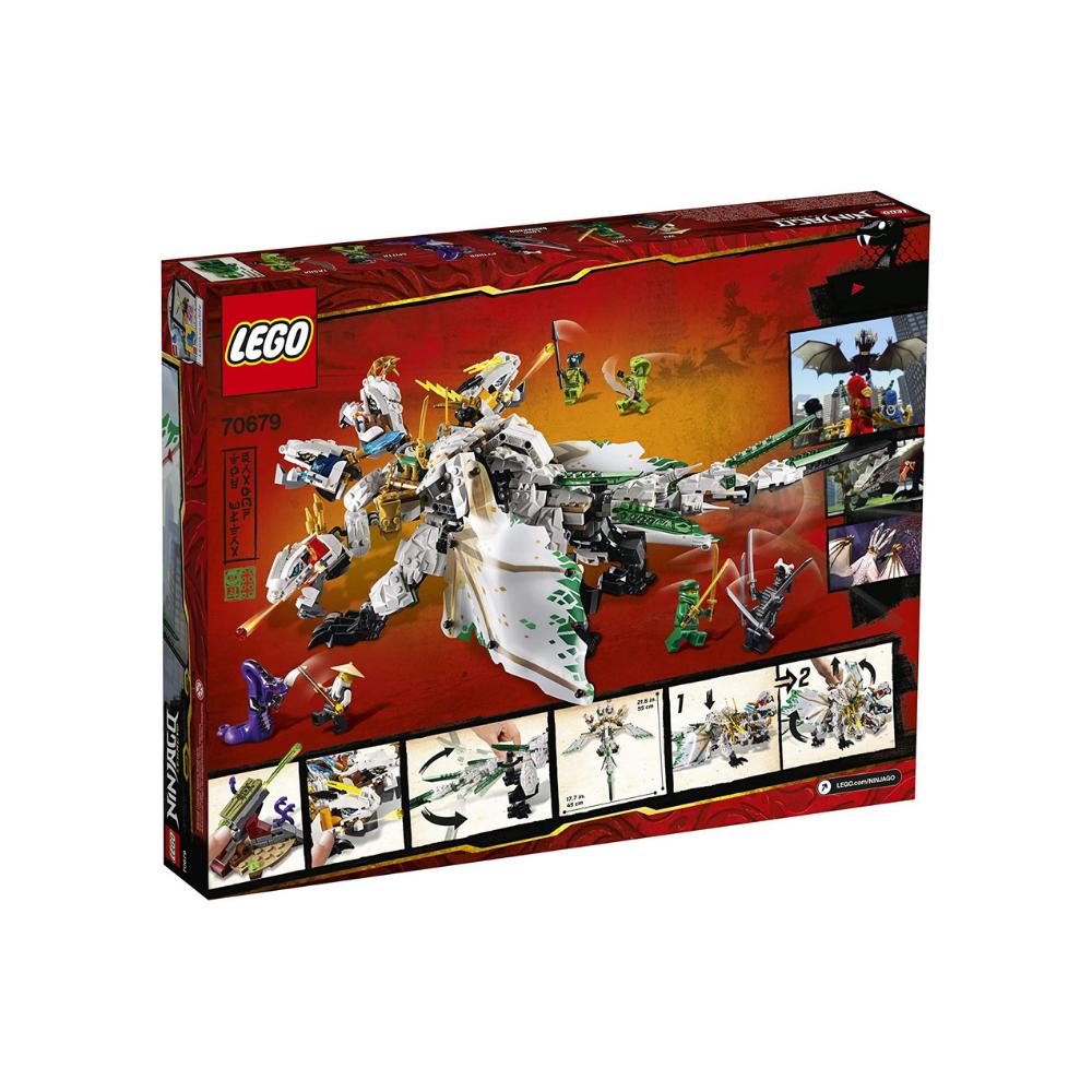 LEGO NINJAGO Legacy The Ultra Dragon 70679 Building Kit (951 Pieces)
