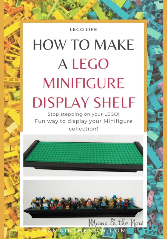 How to Make a LEGO Minifigure Display Shelf