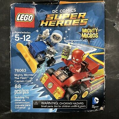 LEGO 76063 DC Super Heroes Mighty Micros The Flash VS Captain Cold 88pcs for sale online   eBay