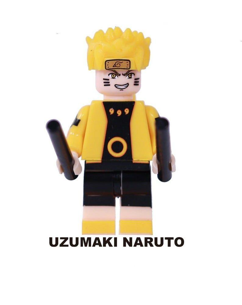8pcs Naruto – Custom DESISGN Figure Boruto Saski Kakashi Minato