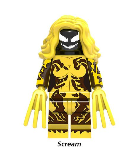Scream Super Heroes Custom Minifigs