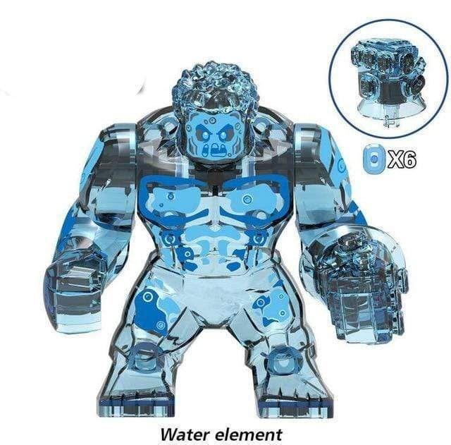 Big Size Marvel Avengers Building Blocks – Multi / L / Water