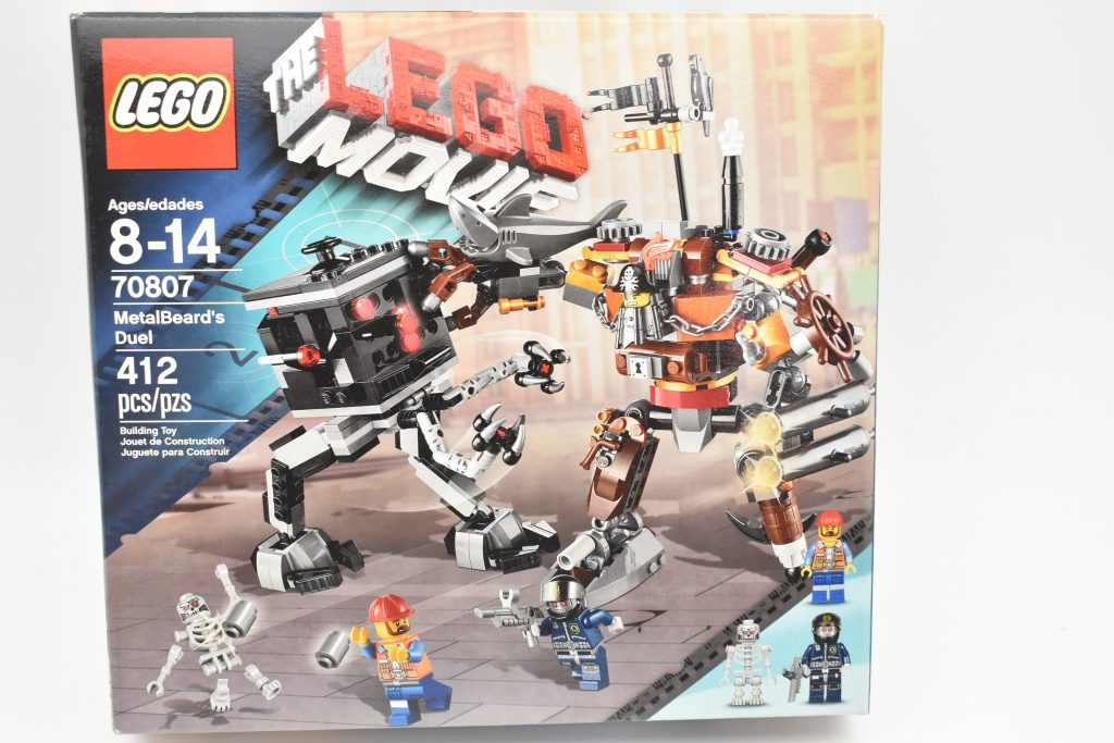 THE LEGO Movie 70807 : Metal Beard's Duel Set New In Box Sealed
