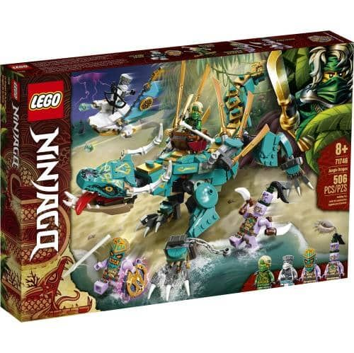 LEGO 71746: Ninjago: Jungle Dragon (506 Pieces)