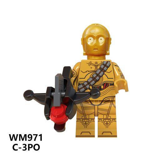 C-3PO Star Wars Minifigs Minifigure Fit Lego