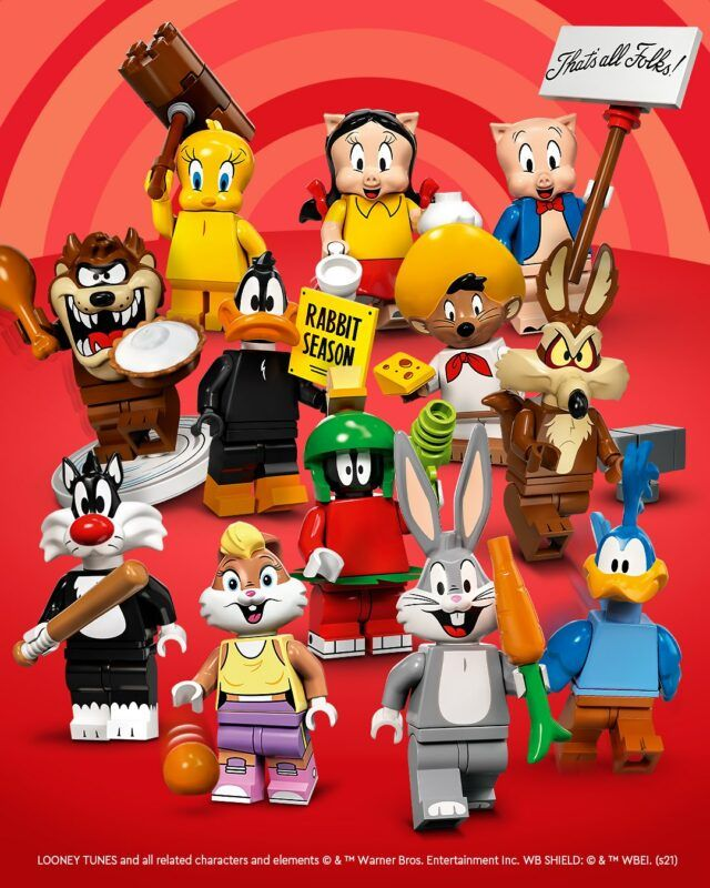LEGO 71030 Looney Tunes Collectible Minifigures : l'annonce officielle