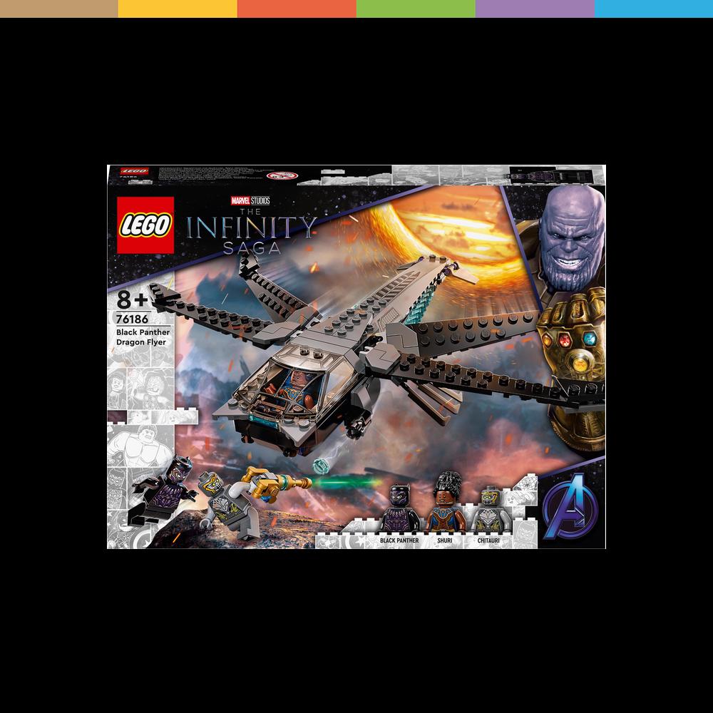 LEGO Marvel Super Heroes, Black Panthers Libelle (76186)