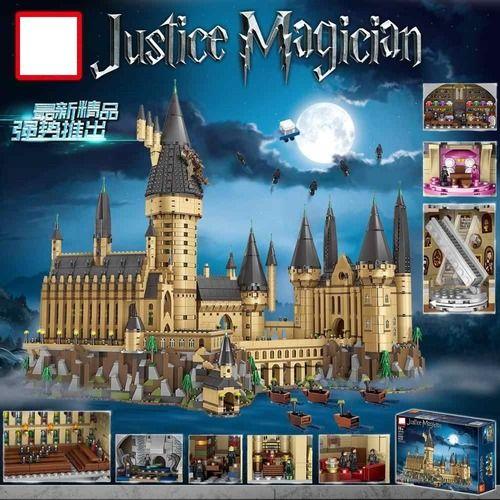 Harry Potter The Hogwarts castle building Bricks