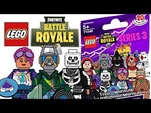 LEGO Fortnite Minifigures Series 3 – CMF Draft!