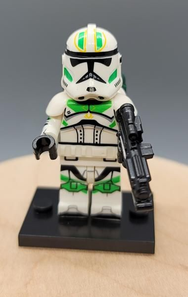 Horn Company Clone Trooper Custom minifigure. Brand new in package. Pl