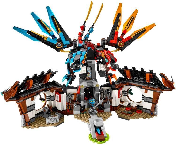 58.55US $  children toy CHINA BRAND bricks toy self locking bricks Compatible with Lego Ninjago Dragon's Forge 70627 no original box brick toys compatible with legochildren toys – AliExpress