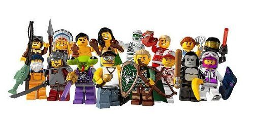 LEGO Minifigure Collection Series 3 LOOSE Set of 16 Mini Figures