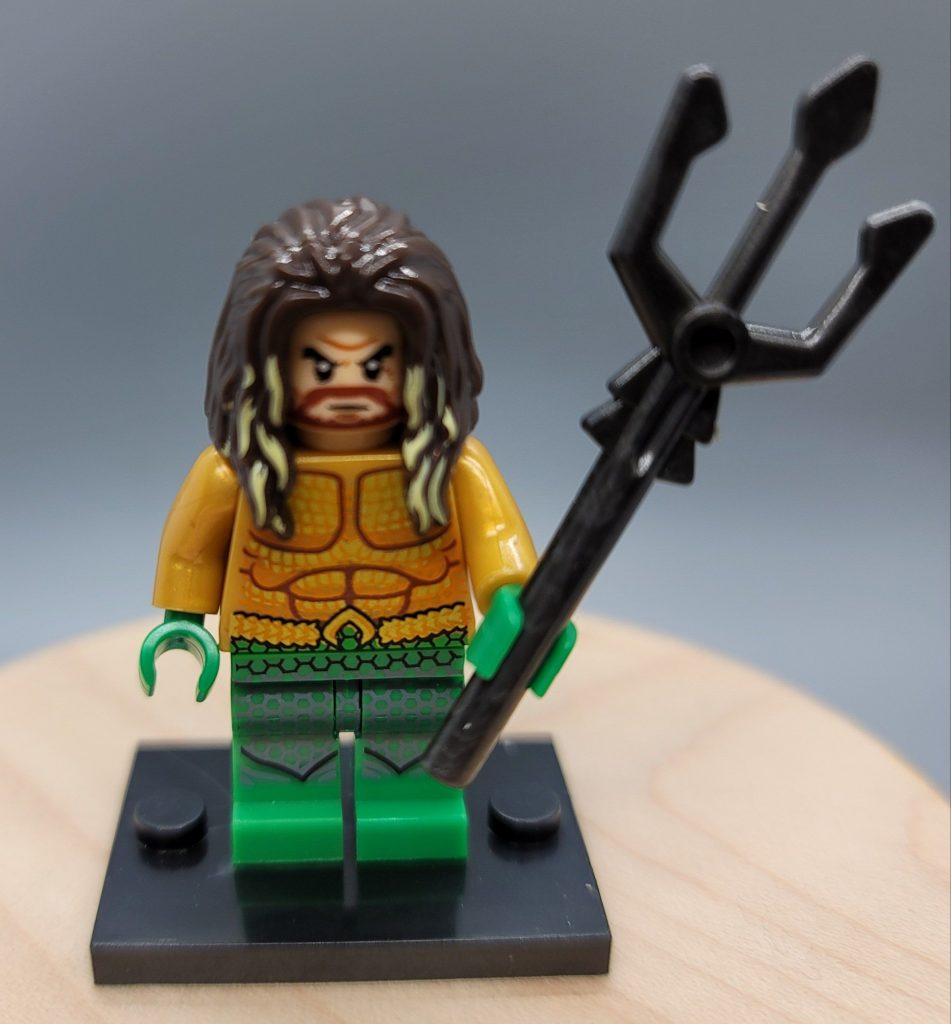Aquaman Custom minifigure. Brand new in package. Please visit shop, lots more!
