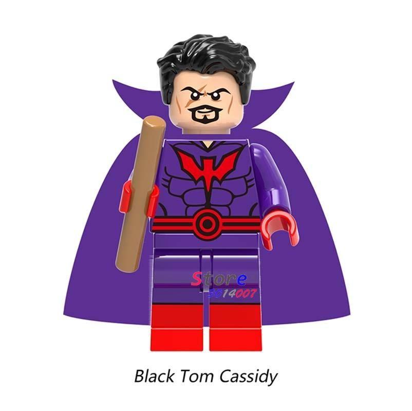 Single Super Hero Harley Quinn Bane Black Lantern Batman Panther Erik Killmonger Sauce prince building blocks toys for children – 717
