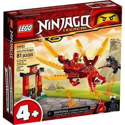 LEGO Ninjago: Kai's Fire Dragon – 81 Pieces (71701)