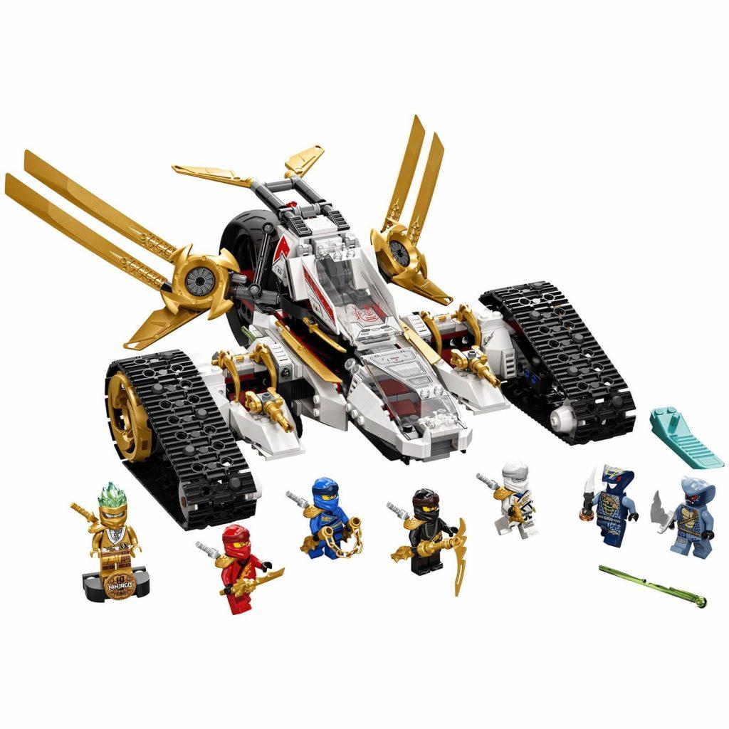 LEGO Ninjago Ultra Sonic Raider Toy (71739)