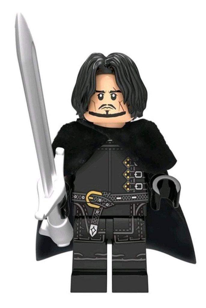 Jon Snow Game of Thrones Custom minifigure by Beaus Bricks.  Brand new in package.