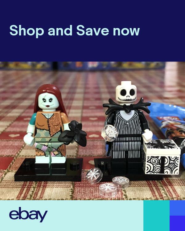 Lego Disney Minifigure Series 2 (71024) – Jack Skellington and Sally – New
