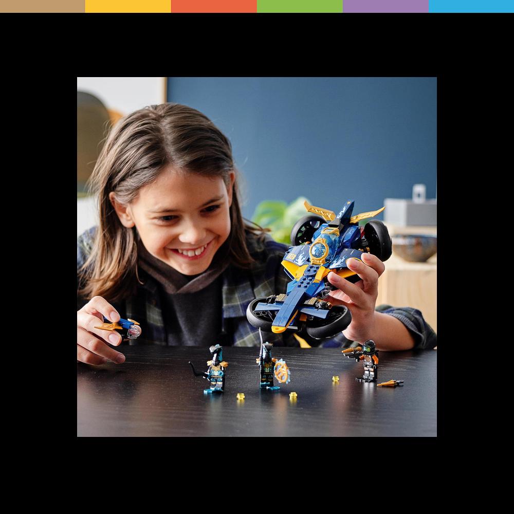 LEGO Ninjago, Ninja- Unterwasserspeeder (71752), Schiff