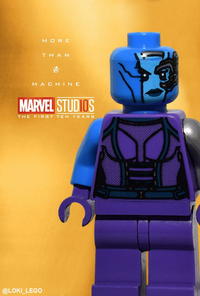 31 Ten Years of Marvel Posters Recreated in LEGO – Future Ruler of Midgard