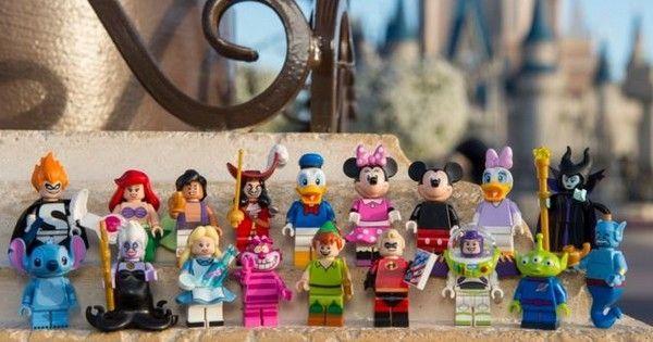 Lego lance des figurines à l'effigie des personnages Disney ! Vous allez craquer tellement ils sont mignons