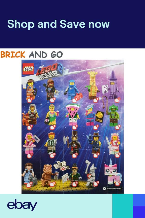 LEGO Figurine Minifigure 71023 Series The LEGO Movie 2 Series Choice NEW NEW