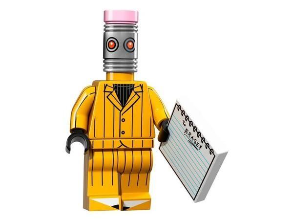 Eraser – The LEGO Batman Movie Series Minifigures