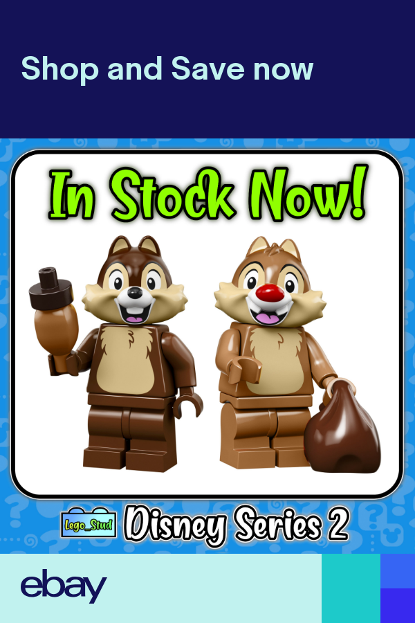 Lego Disney Series 2 Minifigures – Chip & Dale Chipmunks Sealed – 71024 IN STOCK