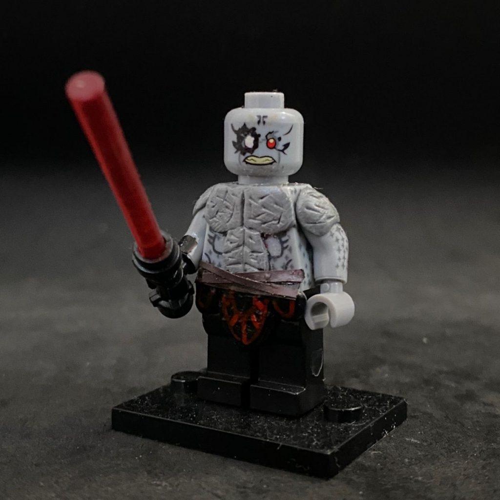 Custom LEGO Minifigure Darth Scion