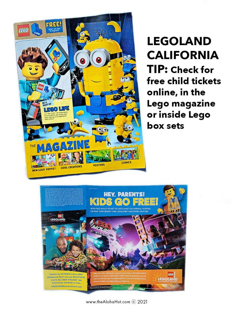 Travel with Kids – How to get FREE kids tickets to Legoland California + Legoland Countdown