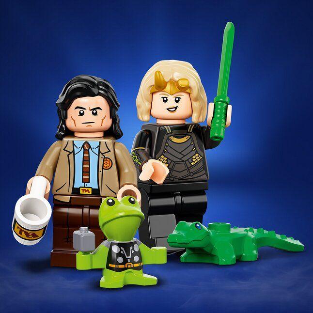 LEGO Marvel Avengers 71031 Minifiguren Marvel Studios – 3 stuks