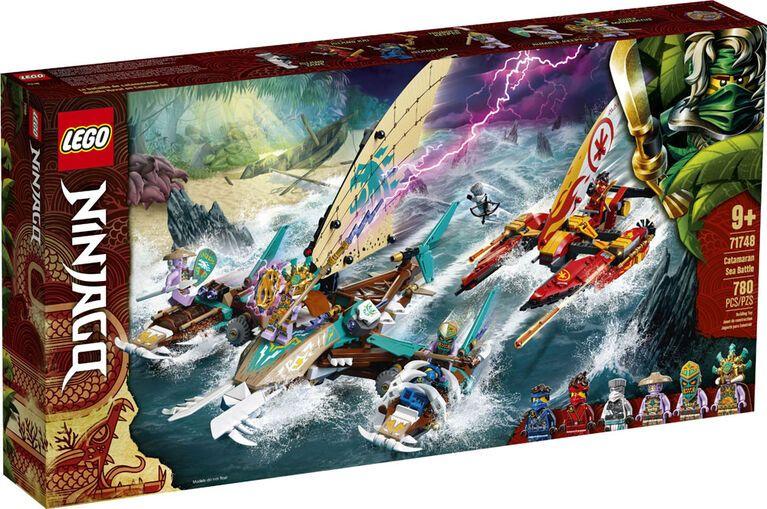 Buy LEGO Ninjago Catamaran Sea Battle 71748 for CAD 99.99 | Toys R Us Canada