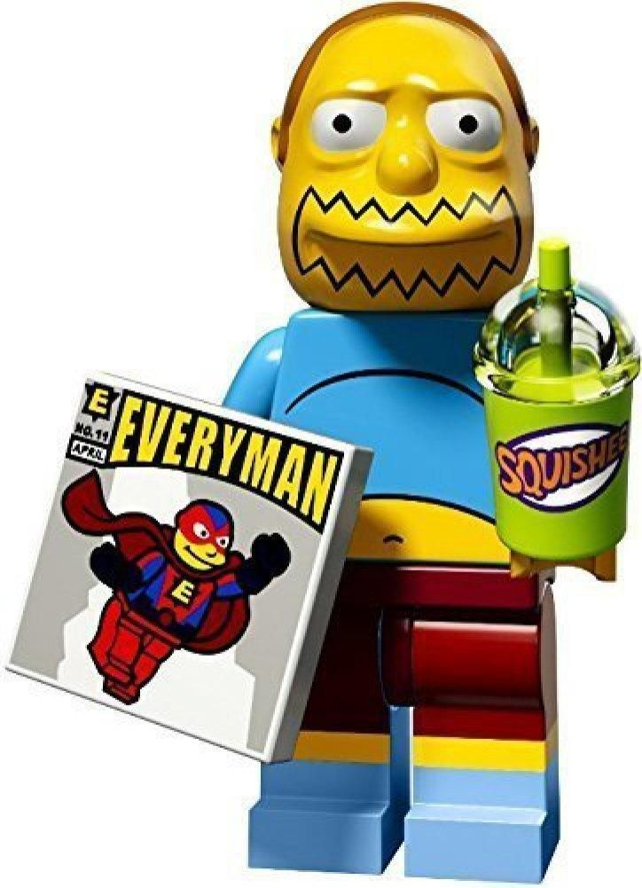 LEGO The Simpsons Series 2 Collectible Minifigure 71009 – Comic Book Guy