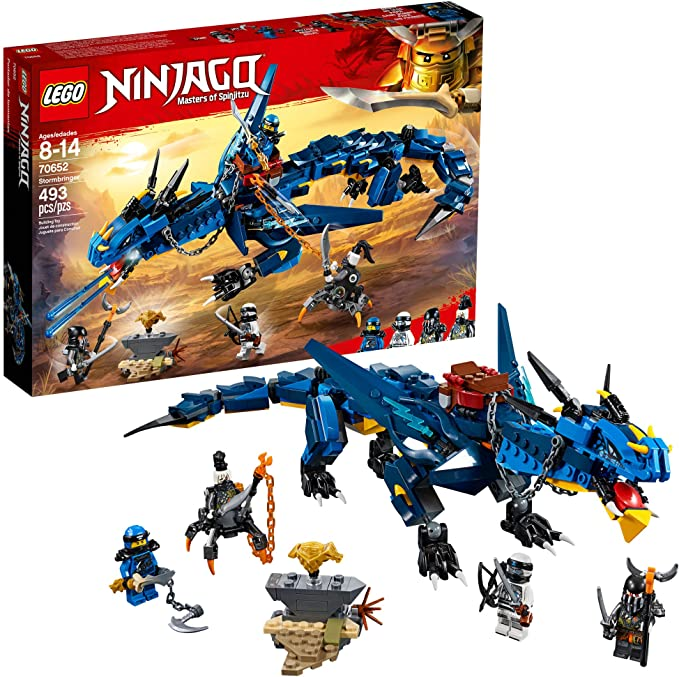 Amazon.com: LEGO NINJAGO Masters of Spinjitzu: Stormbringer 70652 Ninja Toy Buil…