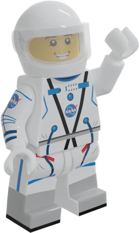 Astronaut Custom LEGO Minifigure LIMITED EDITION