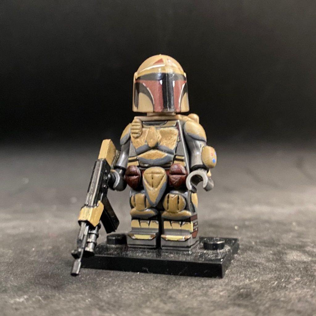 Custom LEGO Minifigure Mandalorian Desert